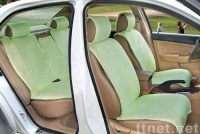 Green suede car seat cushion for general model