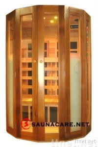 SaunaCare SC-120R Luxury 2 Persons Infrared Sauna