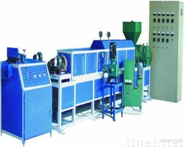 plastic foaming net machine