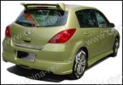 Tiida/Versa/Latio sedan/sportspoiler 2005-2007, stijl Cr-GT