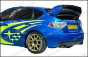 Subaru/Impreza/WRX 10de twee rijenspoiler 2008, stijl Cr-WRC