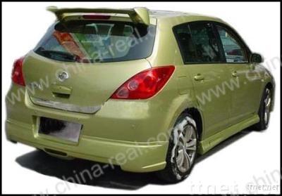 Tiida/Versa/Latio sedan/sport spoiler 2005-2007, CR-GT style