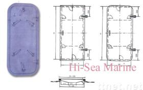 HS03-A01 Marine  weathertight & watertight  steel door