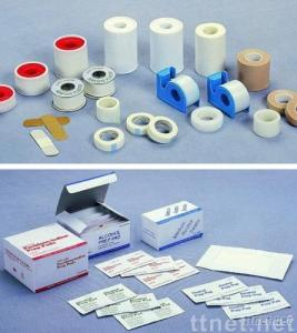 Zinc Oxide Plaster Bandages, Non-woven Adhesive Tape