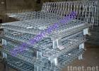 Wire Mesh Container, Folding Warehouse Cage