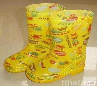 children's shoes-PVC rain boots