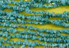 Funcy Shape Turquoise Beads