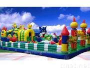 yfun162 happy animals kingdom inflatable funland
