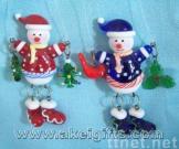 China Glass Christmas Pendant/Presents/Gifts