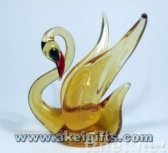 Wholesale China hand-blown Glass Animal Glass Handicrafts