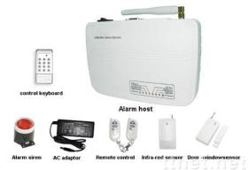 home security burglar alarm ,gsm alarm system