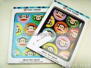 New Paul Frank Ipad silicon Case&Cartoon Paul Frank Covers for IPad