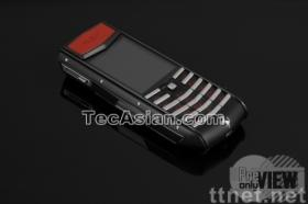 luxury Ascent Ti Ferrari Nero High End mobile phone