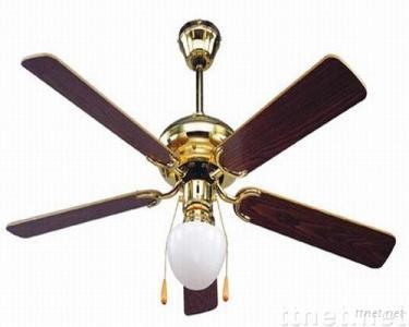 Ceiling Fans with Five Blades One Light