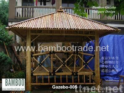 China bamboo Gazebo
