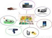 Batterie Li-PO rechargeable pour des modules de batterie de la batterie Li-FO4 de Li-ion de paquet de batterie de RC