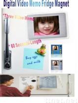 Aimant visuel de réfrigérateur de note de Digitals