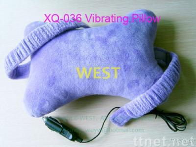 Car Vibrating massage pillow, Neck Massager pillow, Vibration Massager Pillow, polyester pillow, cotton pillow, Neck p