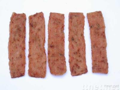 pet food,dog food dried slice of chicken with vegetable