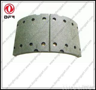 dongfeng truck parts-brake shoe 30ZB3-03021