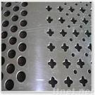 Hole-punching wire mesh
