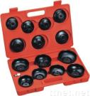 14 Pcs Cup Type Oil Filter Wrench Set