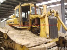De bulldozer van de KAT D6H