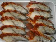 Roasted Eel in Kabayaki Sauce Slice in Sushi Style