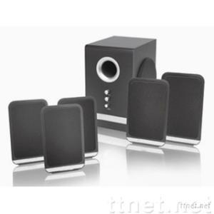 LUX5502--5.1 Desktop Home Theater Speaker With NXT Flat Panel Satellites