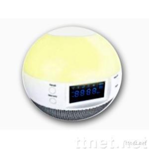 LUXD68--Clock Radio with Wake up Light and Flat Panel Speaker