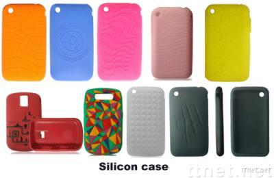 Mobile phone silicon case for iphone 3G&3GS