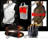 Outdoor Heated Clothing, Winter Heated Jacket, Heated Vest, Heating Gloves, Heating Insoles, Winter Bench Warmer