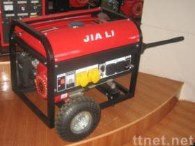바퀴를 가진 Gasoil 발전기 EP3000