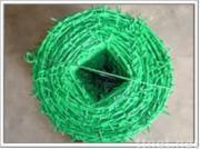 PVC-überzogener Stacheldraht