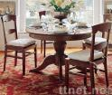 round dining table , chairs