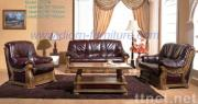 Classic Leather Sofa-Model 2707#