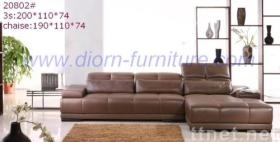 Modern Leather Sofa-Model 20802#