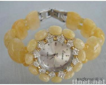 Topaz,fashion novelty watches, semiprecious stone