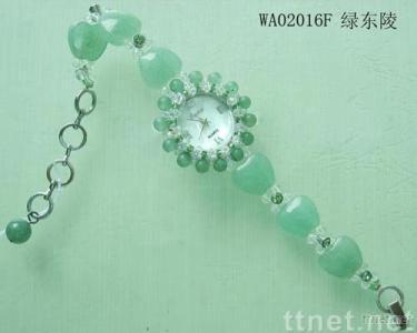 Green aventurine quartz,lovely watches, children watches,natural quartz stone