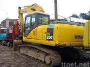 小松の掘削機PC200-7