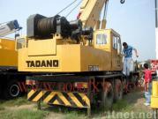使用されたTADANO 35tのトラッククレーン