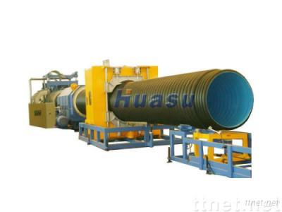 Corrugated Pipe Machine--HDPE SBG-800 Double Wall Corrugated Pipe Extrusion Line