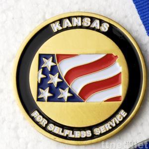 Metal Coin, emblem, medallion