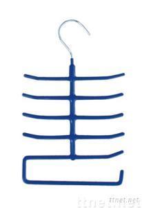pvc coated tie hanger