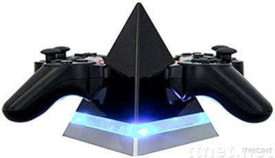 PS3 controller pyramid charger