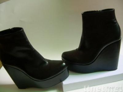 YSL high platform shoes