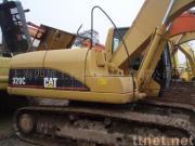 使用された幼虫320Bの掘削機