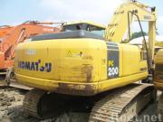 小松の使用されたPC200excavator