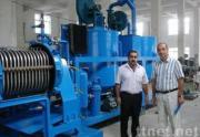 Engine oil regeneration machine