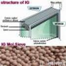 Molecular sieve for insulating glass